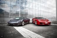 Koeaja Ferrari tai Lamborghini