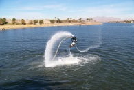 Flyboard sessio