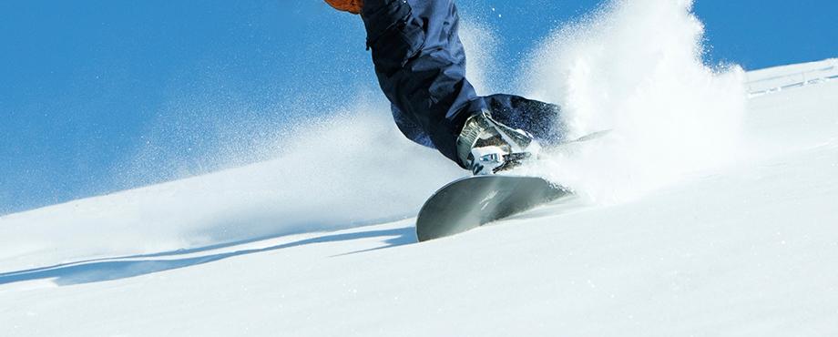 En upplevelse med drag, prova snowkite!