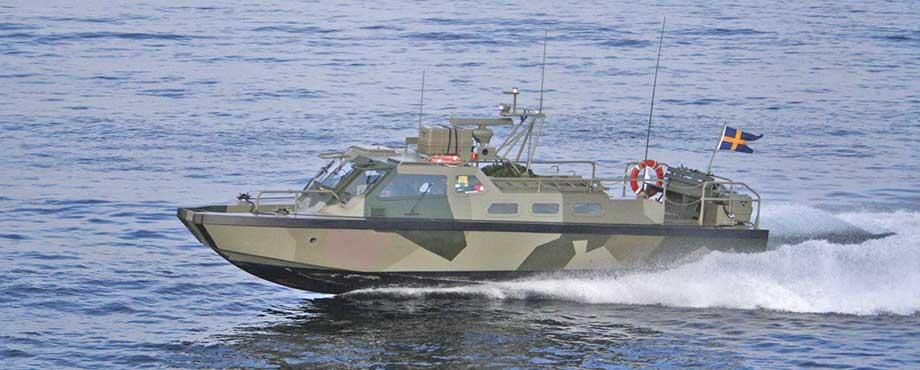Stridsbåt 90 - Stockholms skärgård