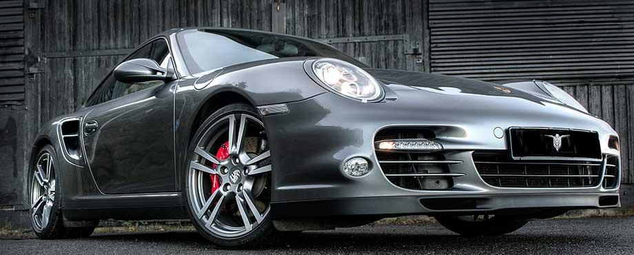 Provkör Porsche