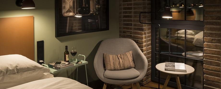 Avkopplande dygn på Sveriges första urban winery hotel