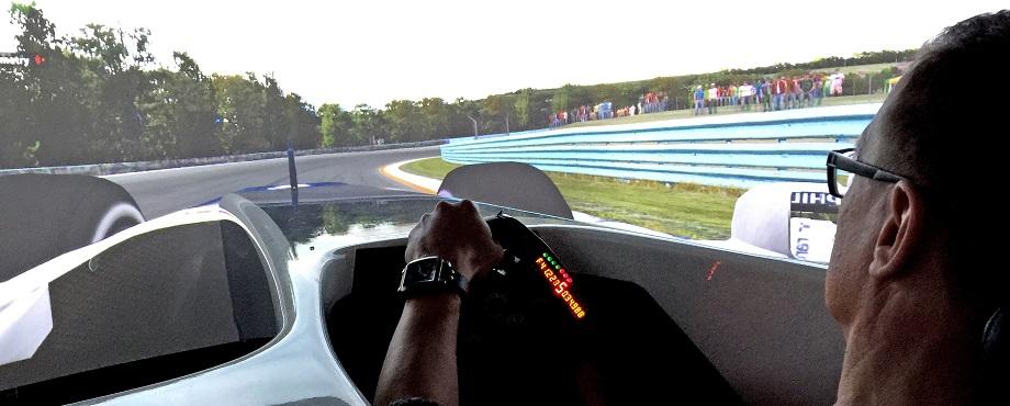 Upplev simulator-racing