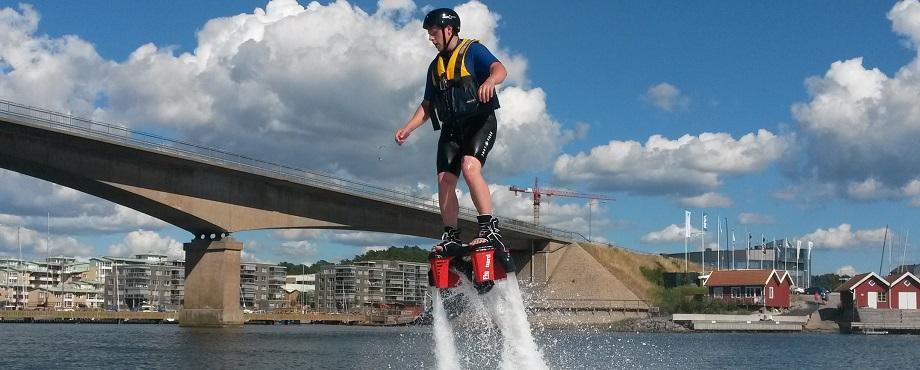 Prova på Flyboard - bli först med att testa flyboard!