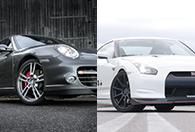 Porsche vs Nissan GT-R