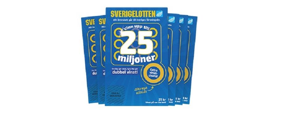 Vinn med Sverigelotten och svenskt föreningsliv!