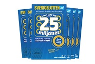 Sverigelotten 10 st