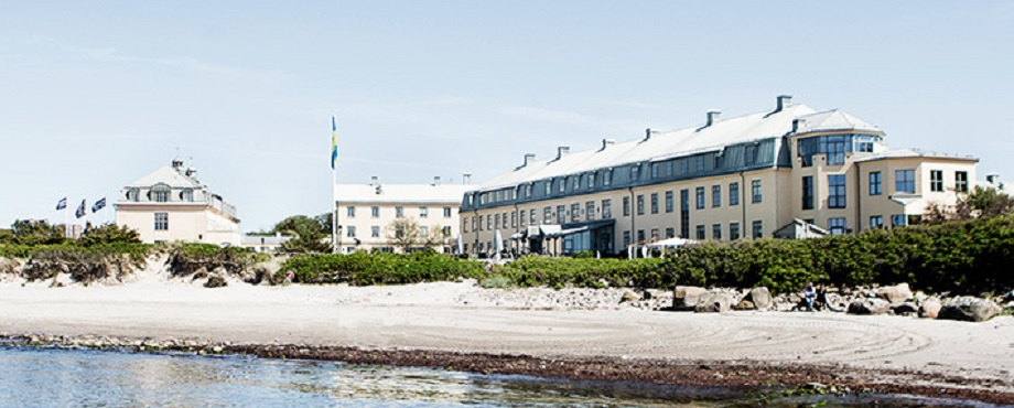 Avkoppling på spa nära havet