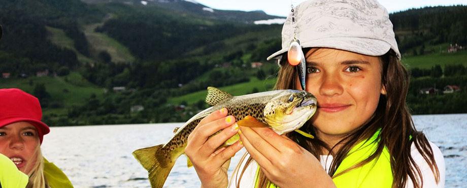 Guidad fisketur för familj