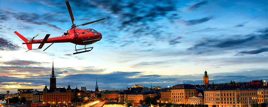Helikoptersightseeing