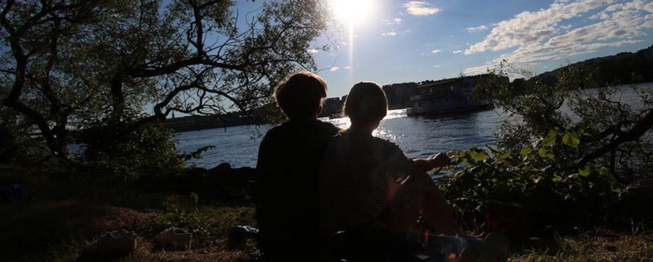 Kvällskajaktur i Stockholm City för två