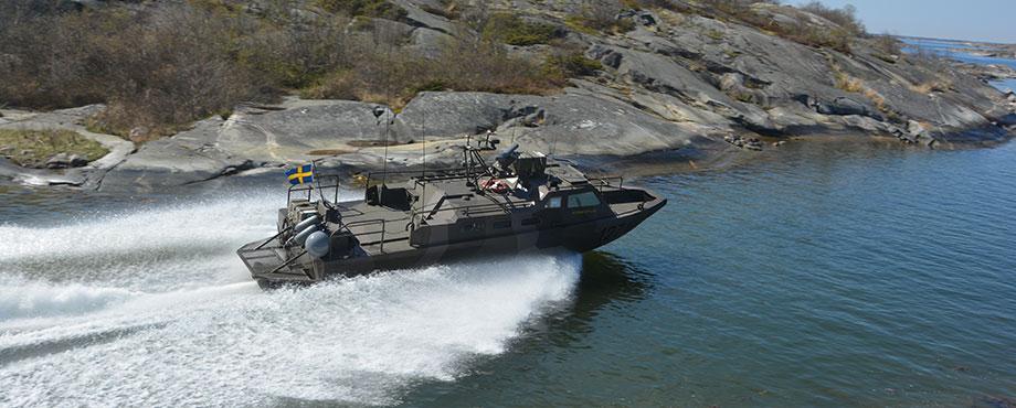 Stridsbåt 90, en fartfylld upplevelse