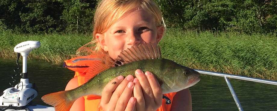 Fiske - familjeupplevelse som present eller julklapp