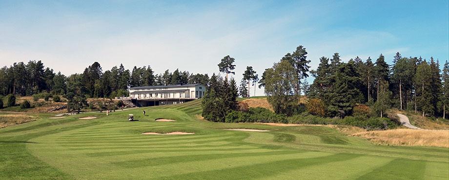 Golf med övernattning och spa för två