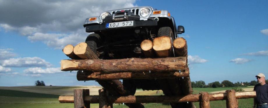 Utmana dig själv i Jeep Adventure
