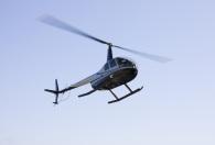 Privat Helikopter-sightseeing för tre