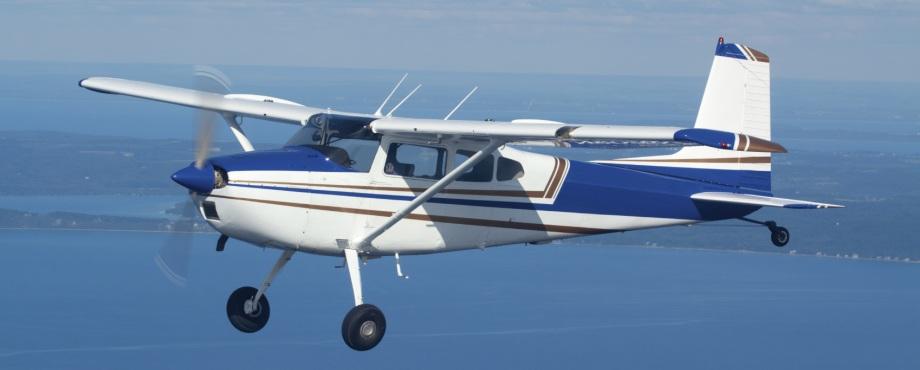 Provflyg flygplan. Häftig upplevelse