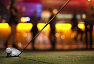 Golfsimulator på BallBreaker