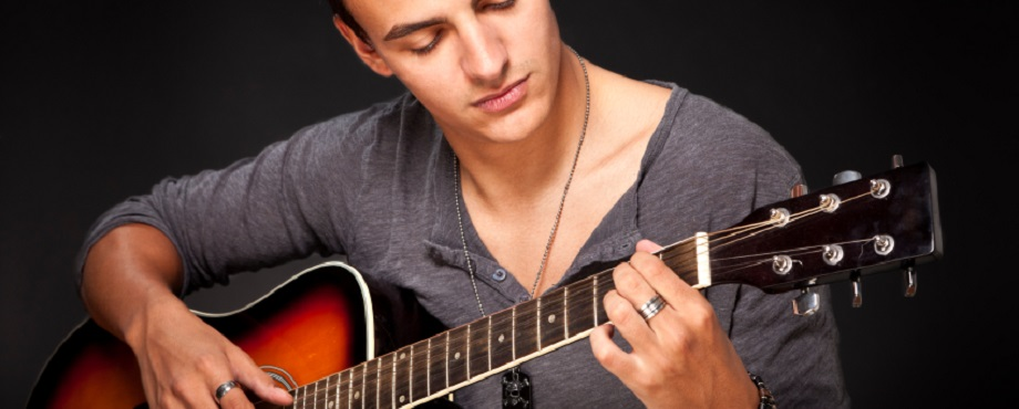 Gitarrlektion