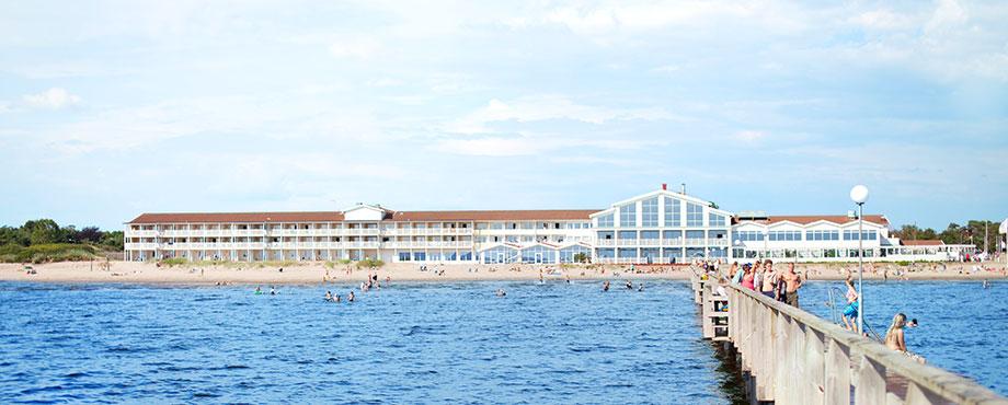 Spadag på Falkenbergs Strandbad