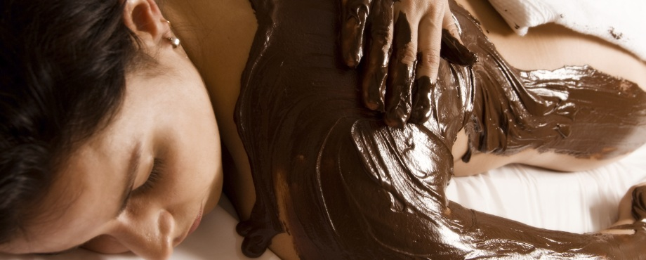 Chokladmassage Chokladinpackning - lyxig upplevelse som present