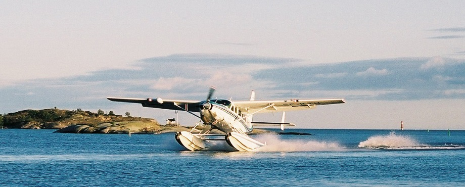 Sjöflyg som present, upplevelse eller julklapp