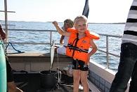 Makrillfiske för familj