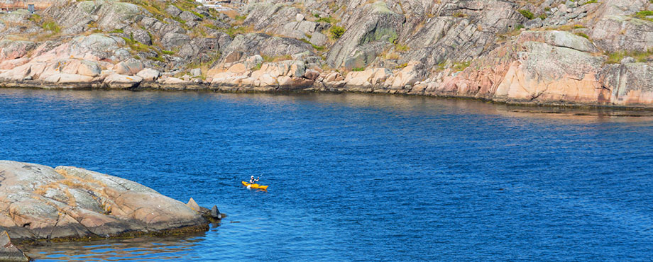 Kajakdag. Paddla kajak i Bohuslän.