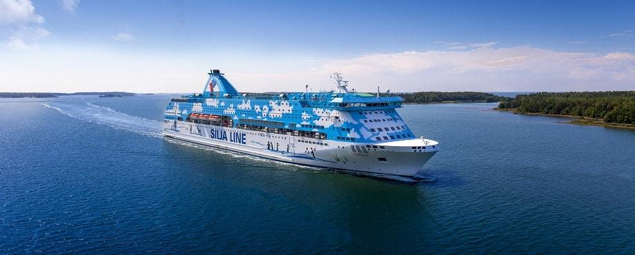 Kryssning Tallink Silja Helsingfors Tallinn Silja Galaxy